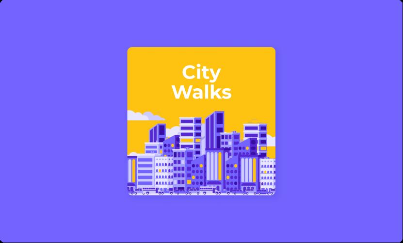City Walks podcast cover art