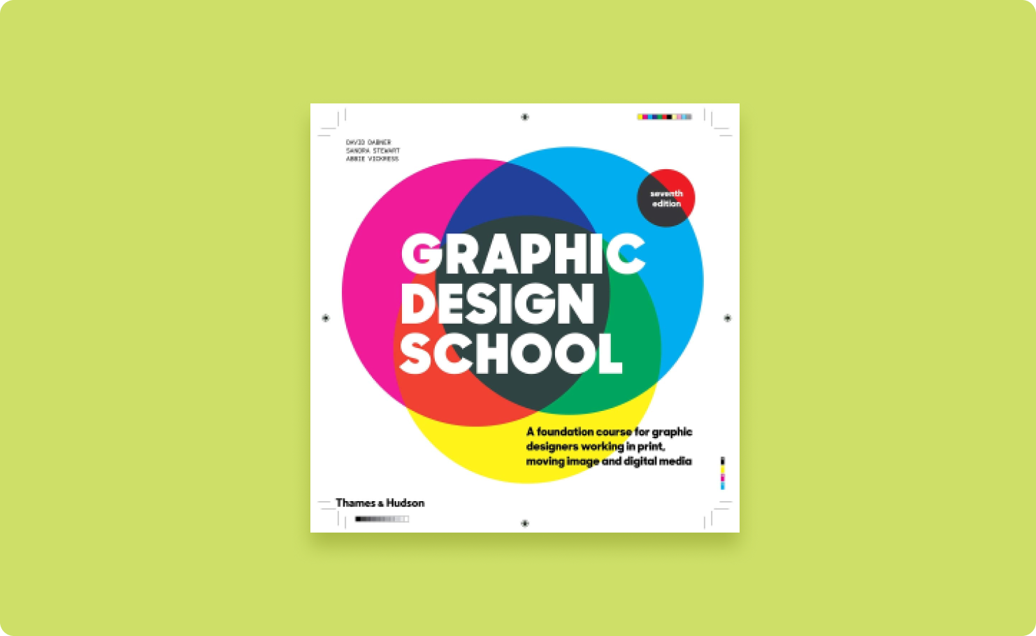 Cover image of the book: Graphic Design School