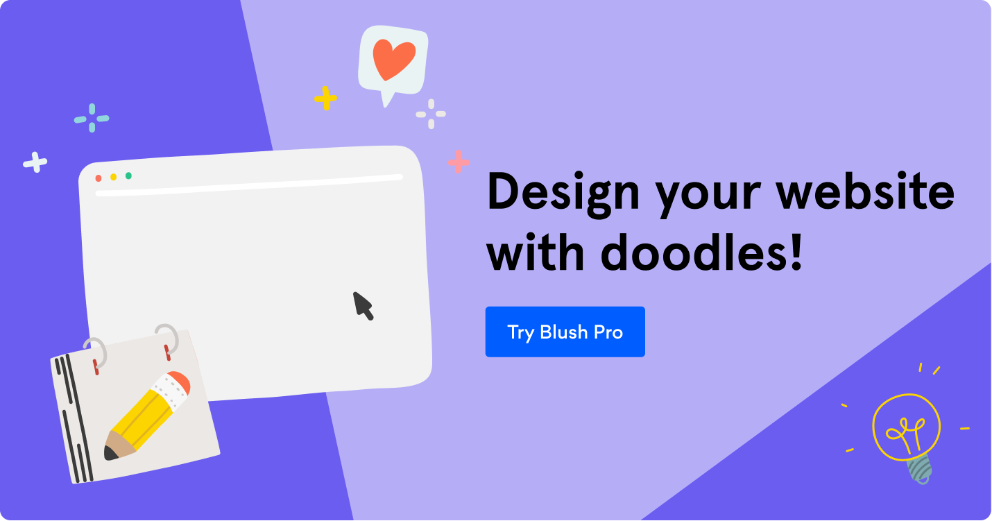 Design your website with doodles