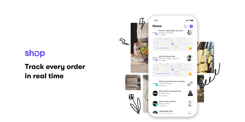 Shop Realtime Tracking