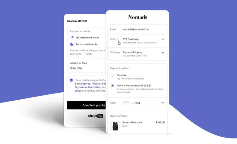 Shopify Installments