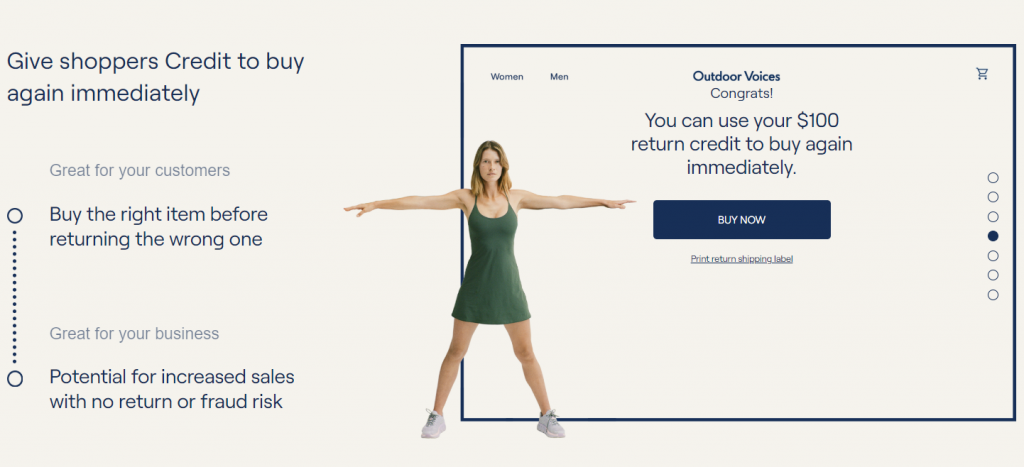 Returnly Instant Return Credit