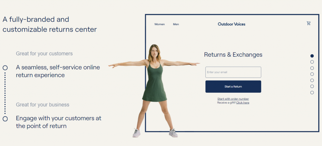Returnly - a fully-branded & customizable returns center