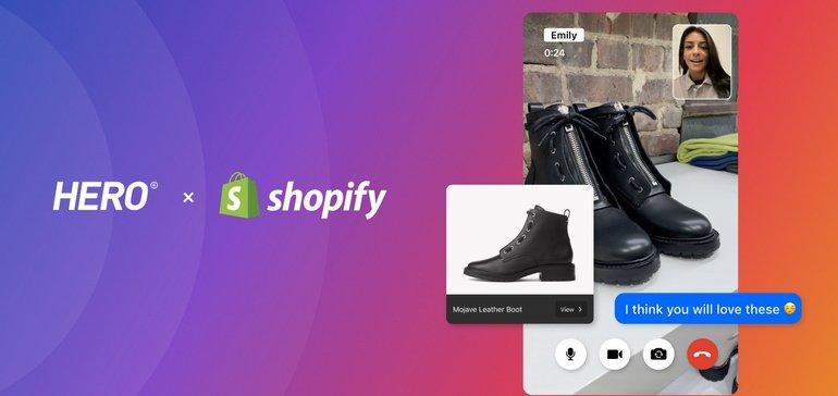 Hero on Shopify