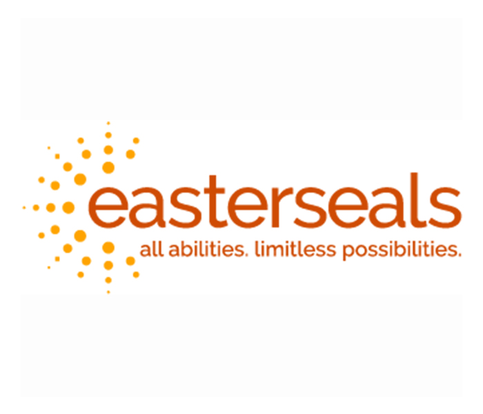 Easter Seals logo - all abilities. limitless possibilities.