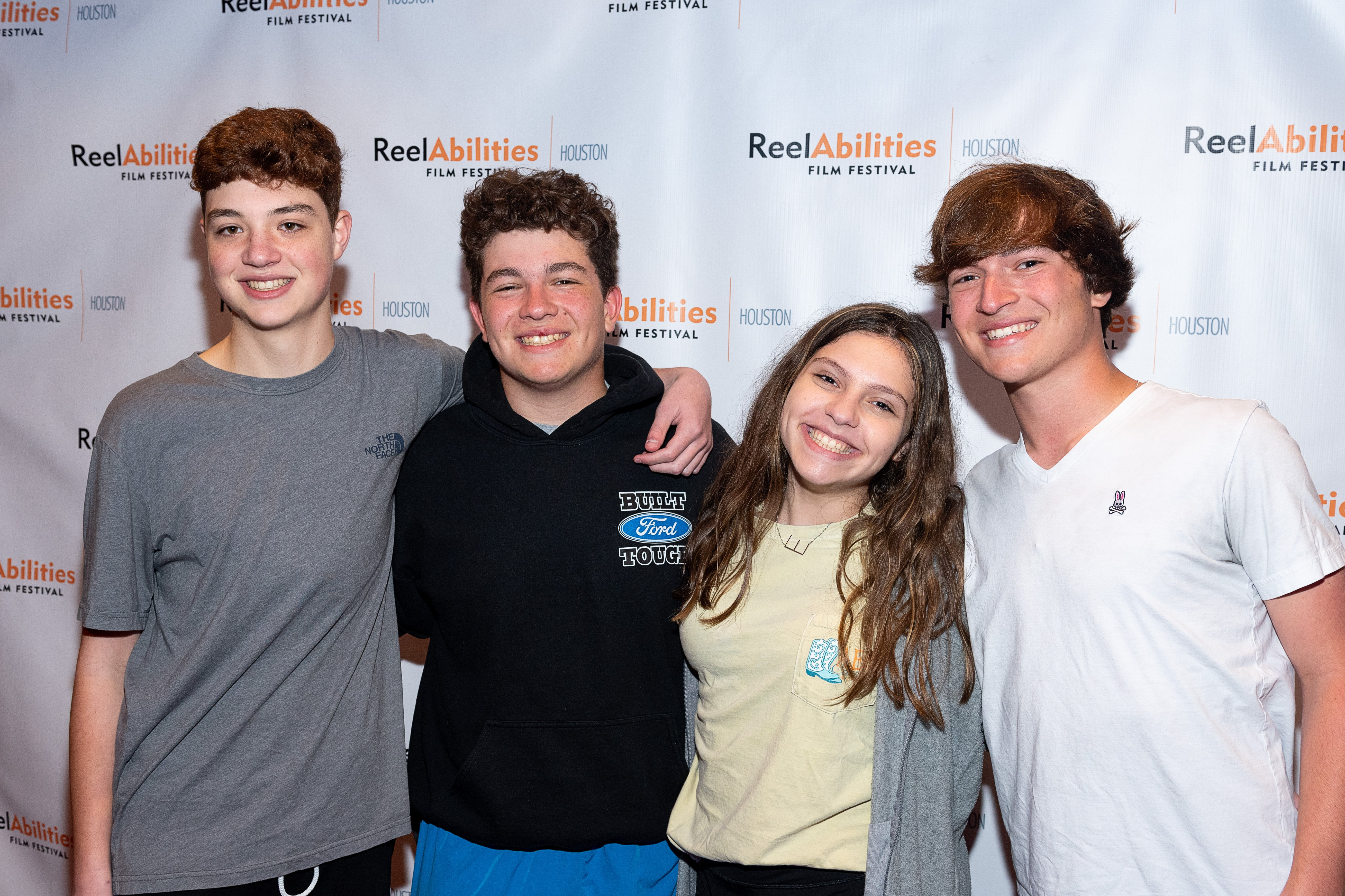 Group of teens at preview event