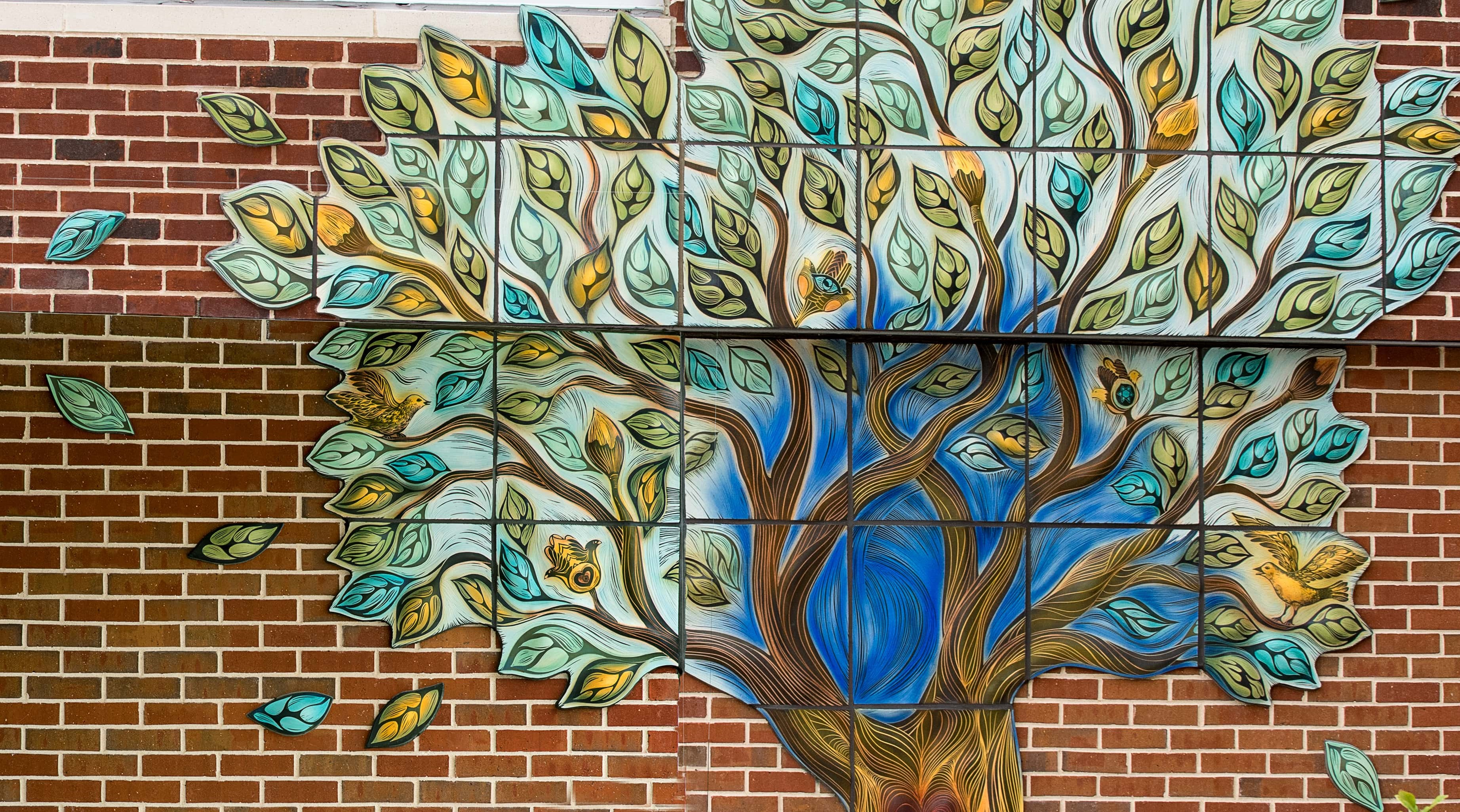 JFS Building Mural