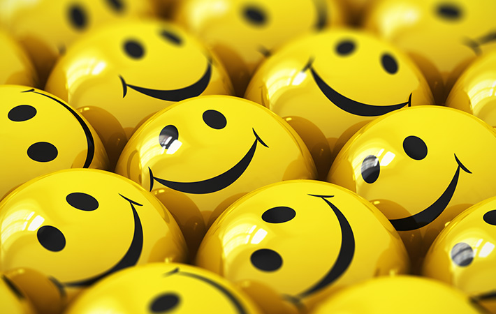 Multiple Smiley Faces