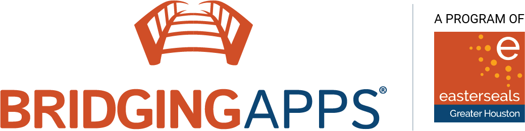 Briding Apps Logo - A Program of Easter Seals Greater Houston