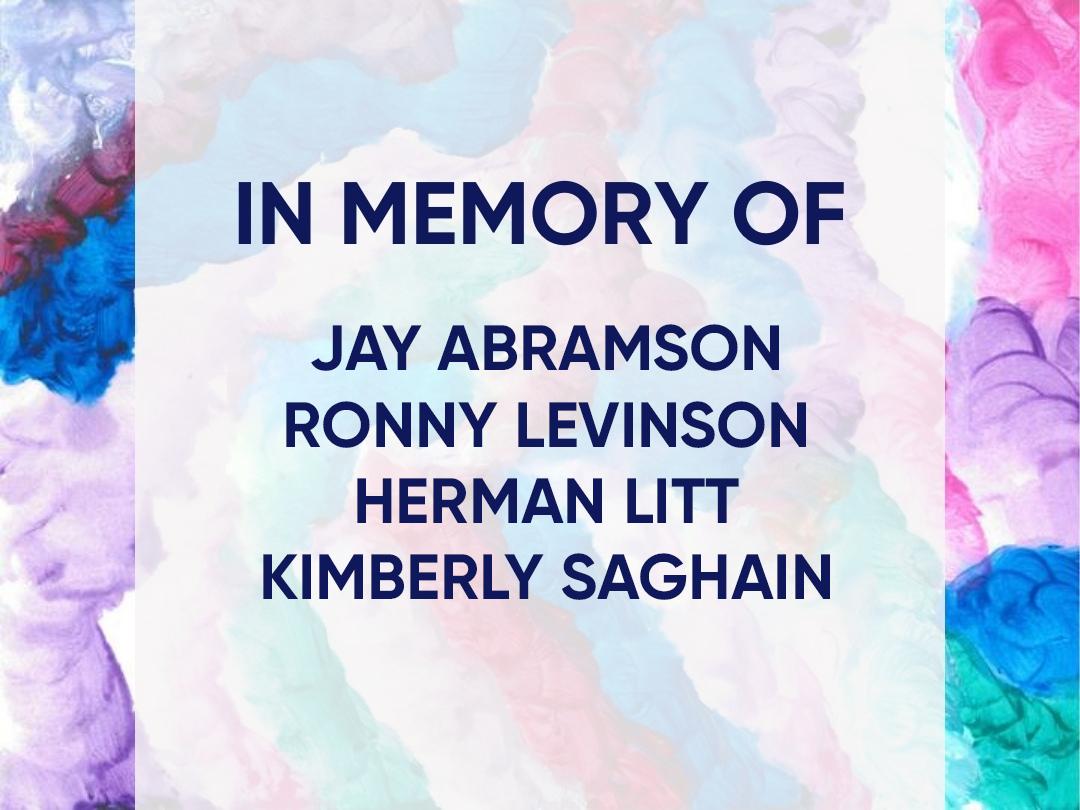 Funding focus: In Memory of Jay Abramson, Herman Litt, Kimberly Saghain