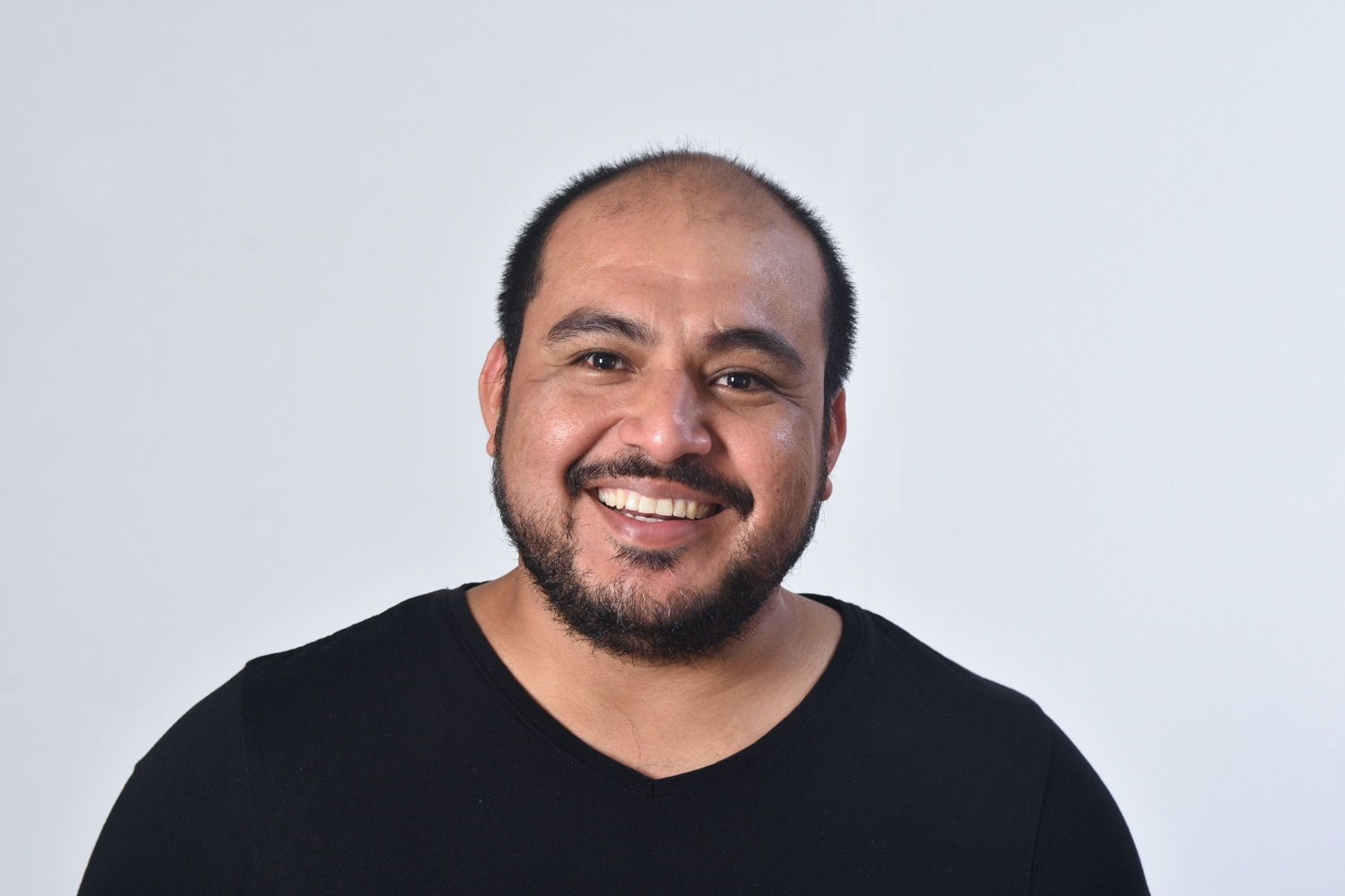 Photo of a smiling man