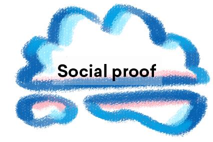 Social proof illustration