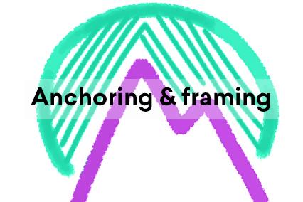 Anchoring and framing illustration