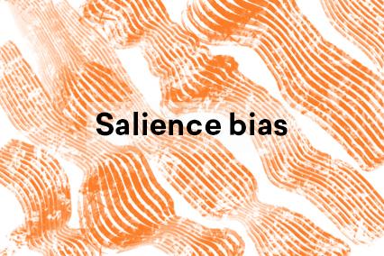 Salience bias illustration