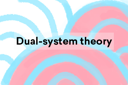 Dual-system theory illustration