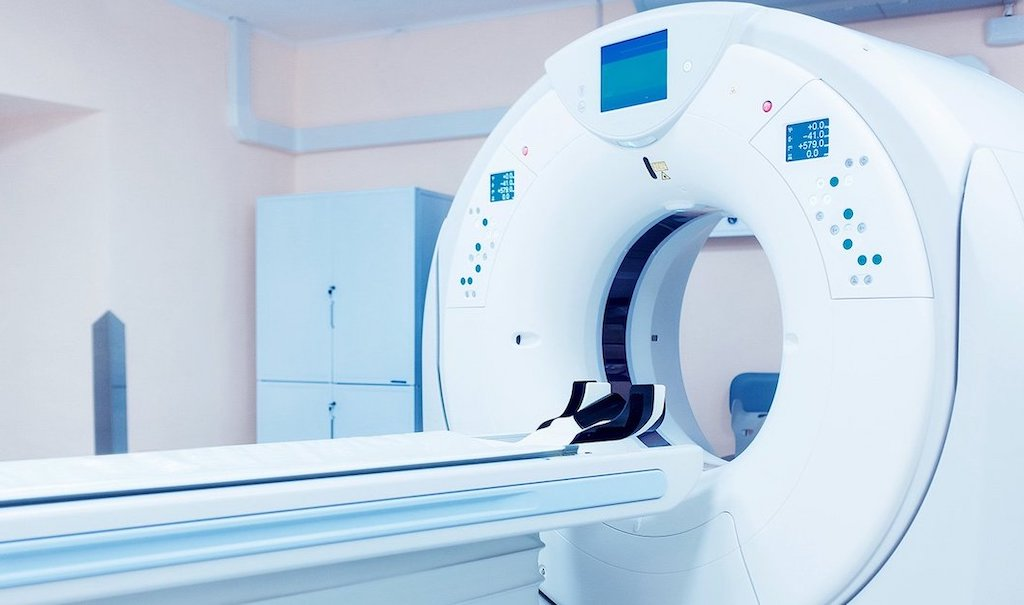 Photo of a CT Scan Machine