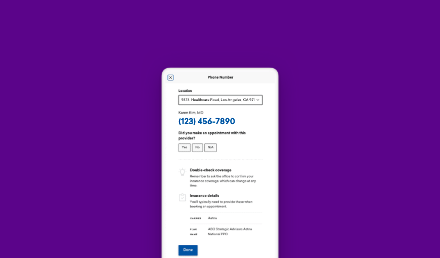 Screenshot shows new phone call verification feature