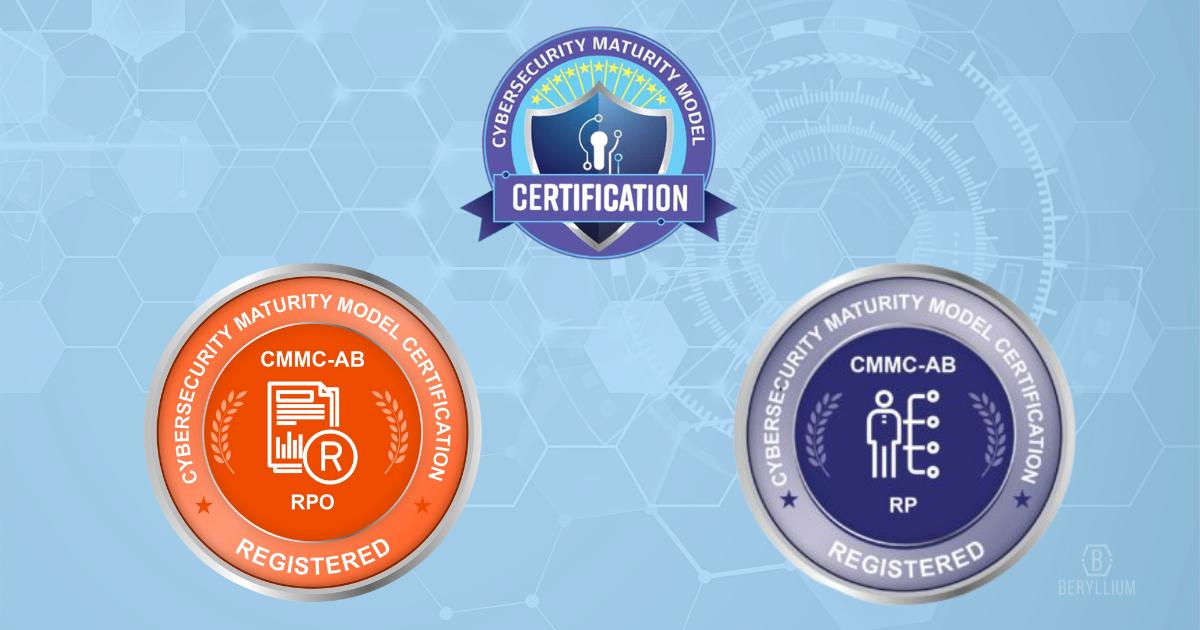 CMMC registered organization logos