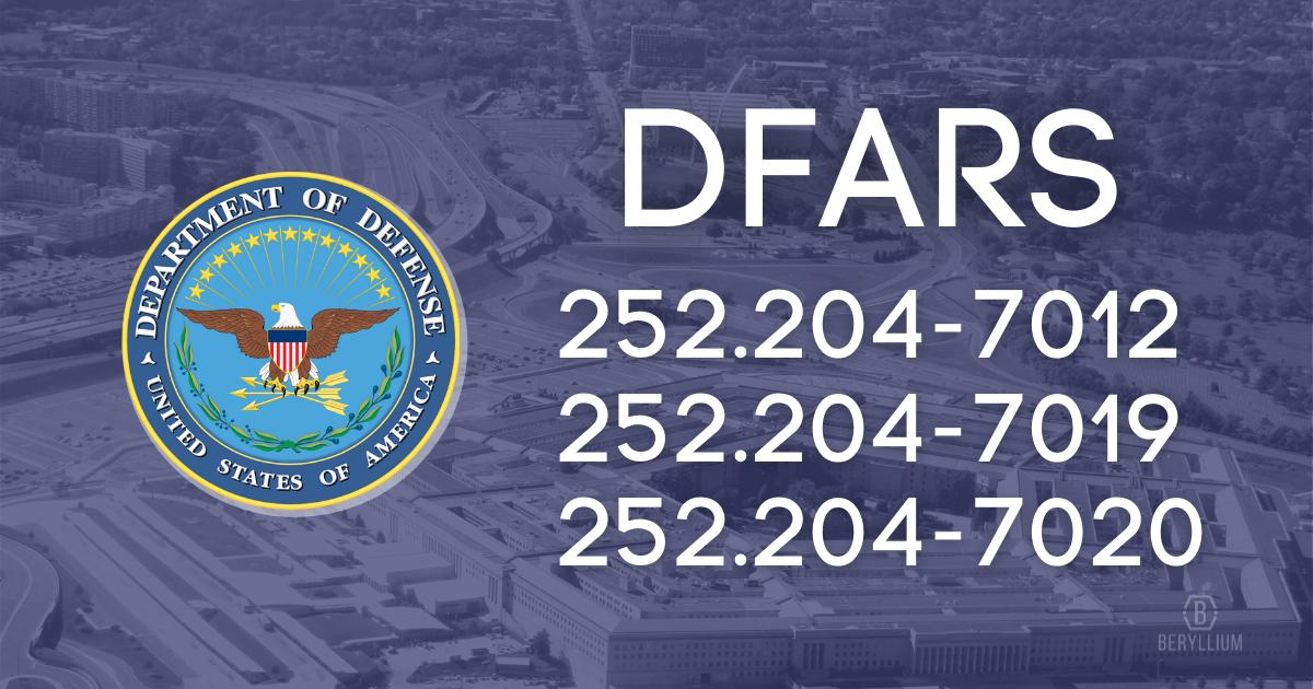DFARS certifications