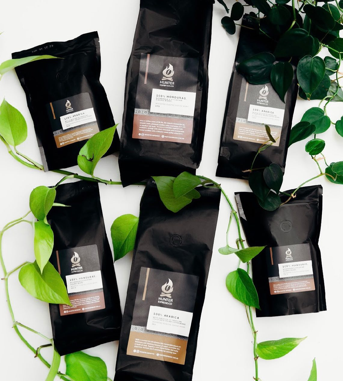 Coffee Beans from Hunter Espresso