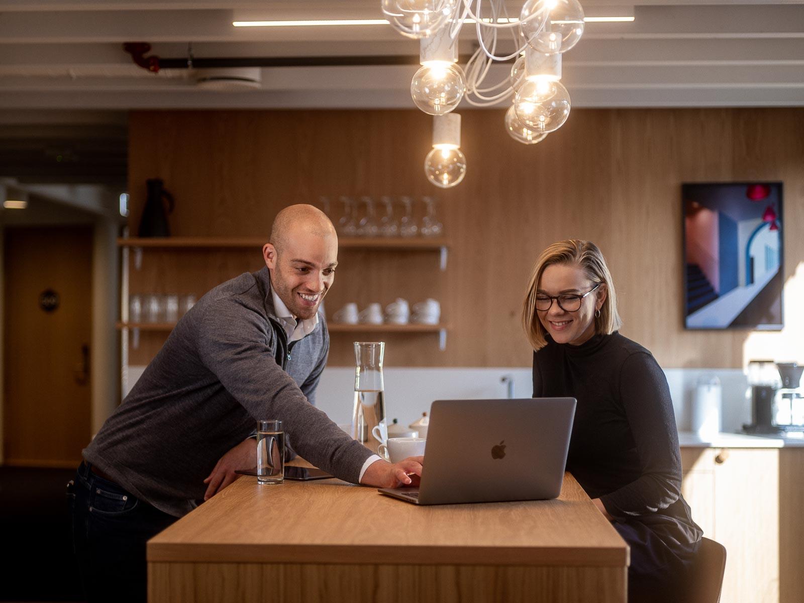 Teamwork på Webhuset