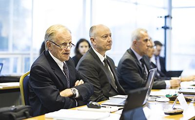 Ken Adams at IHA Board Meeting, 20 September 2017