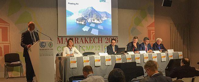 Richard Taylor at COP22