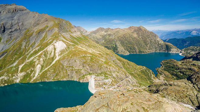The Vieux-Emosson project in Valais, Switzerland. ©Nant de Drance - Sébastien Moret.
