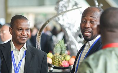 Delegates at the World Hydropower Congress