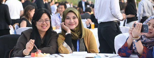 Evening participants