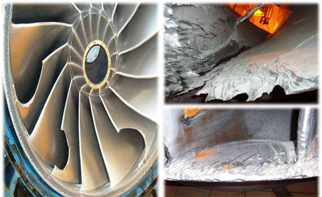 Figure 3 - damage to the turbines at Nathpa Jhakri