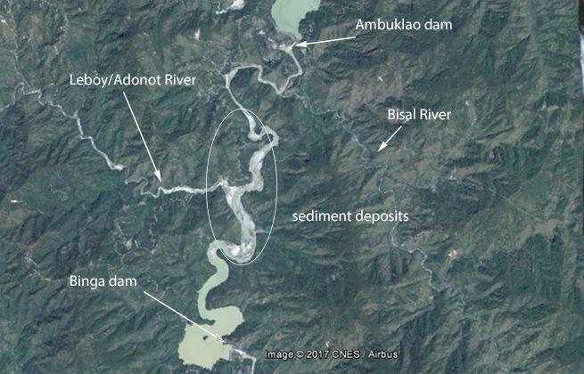 Binga aerial view with tags