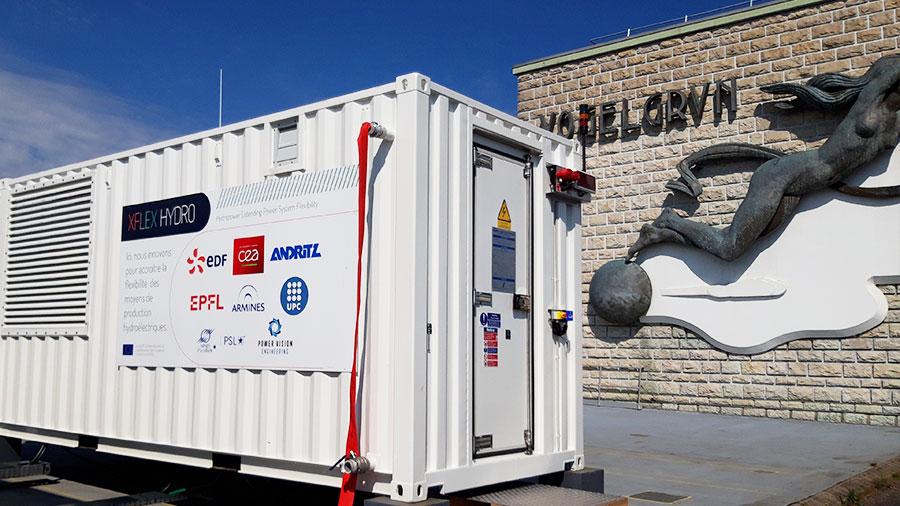 Hydro_Battery Hybrid at Vogelgrun