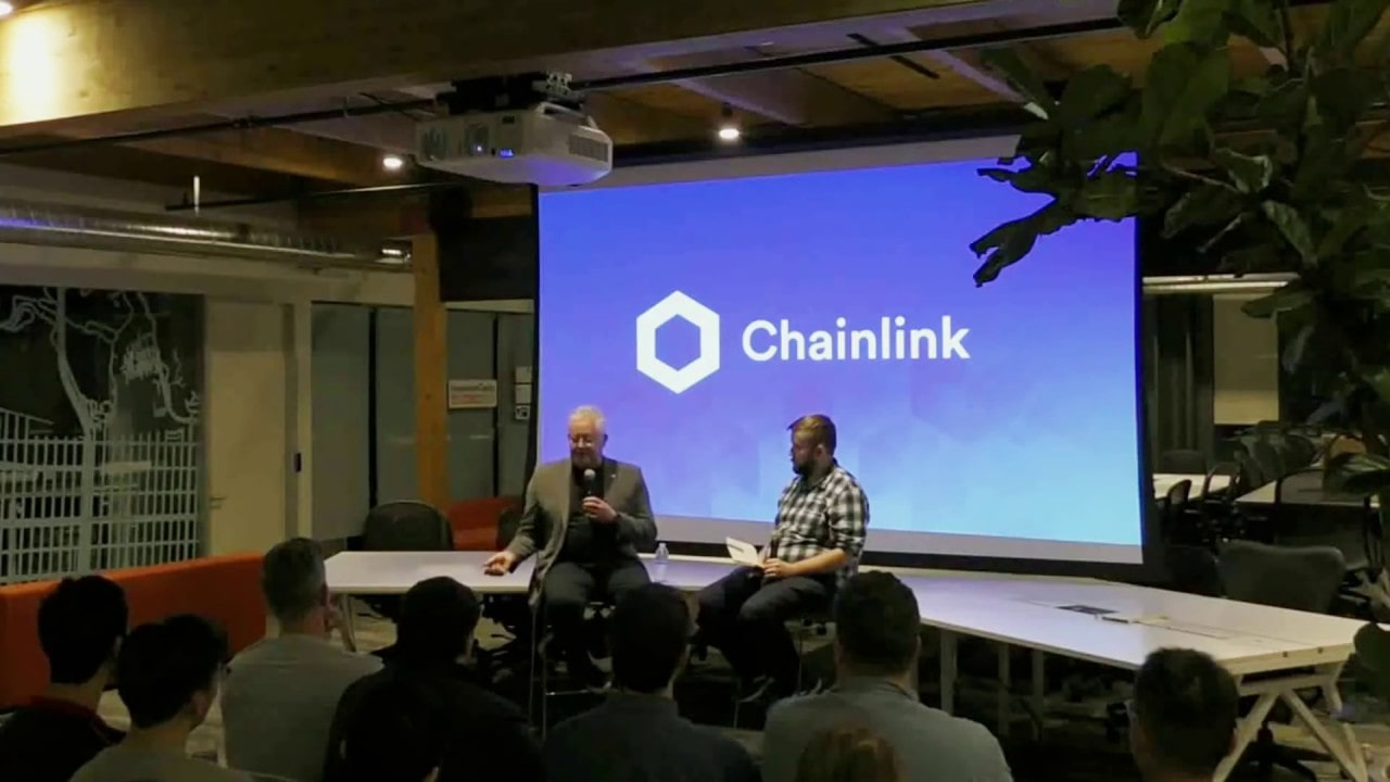 Chainlink Fireside Chat with DocuSign Founder Tom Gonser