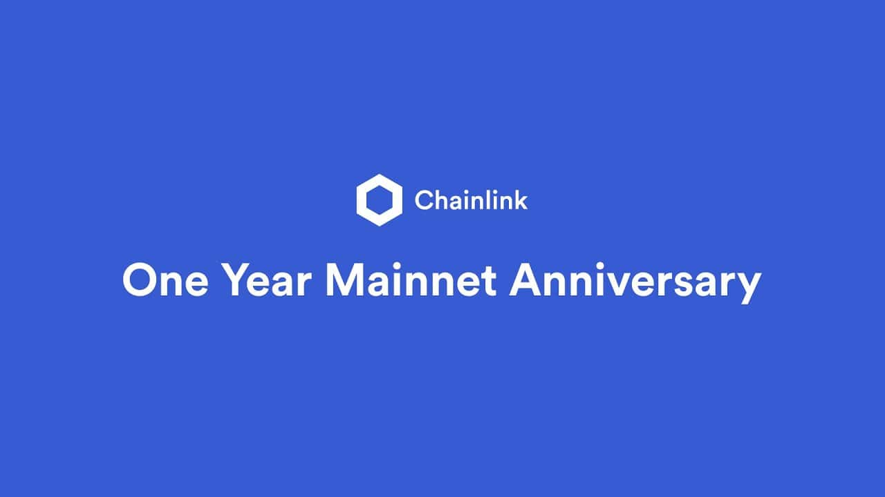 Chainlink One Year Anniversary on Mainnet: Thank You!