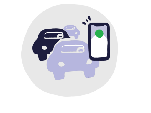Multi-vehicle monitoring icon