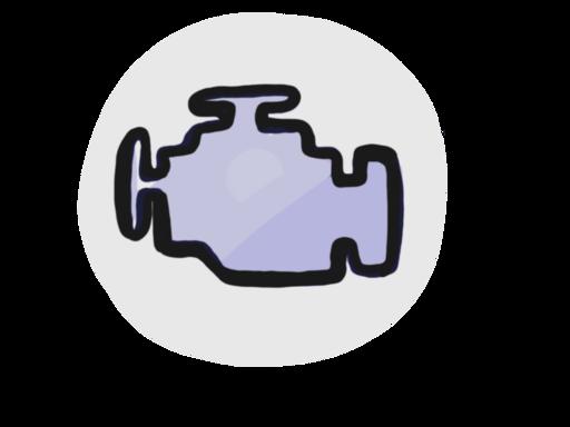 Check engine light icon