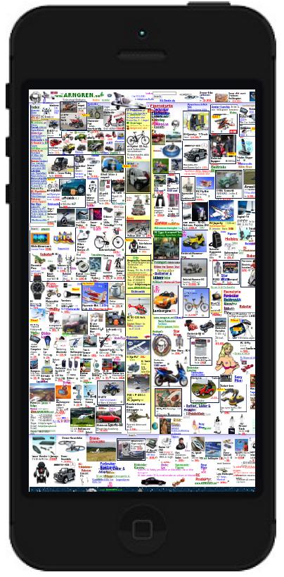 Arngren søkemotoroptimalisert responsive mobile webhuset illustrasjon