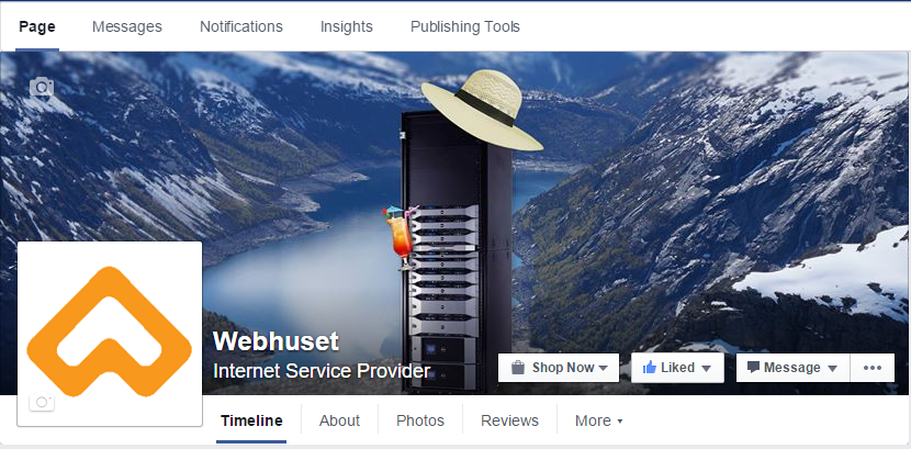 Facebook Webhuset Publishing Tools