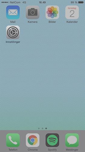 Sette opp iOS synkronisering via activesync