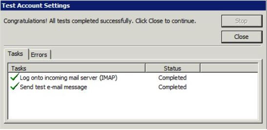 Velg deretter arkfanen Advanced, og erstatt verdien i Outgoing Server (SMTP) med 587.
