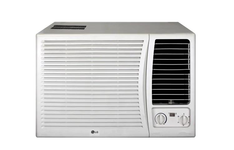 white LG window aircon
