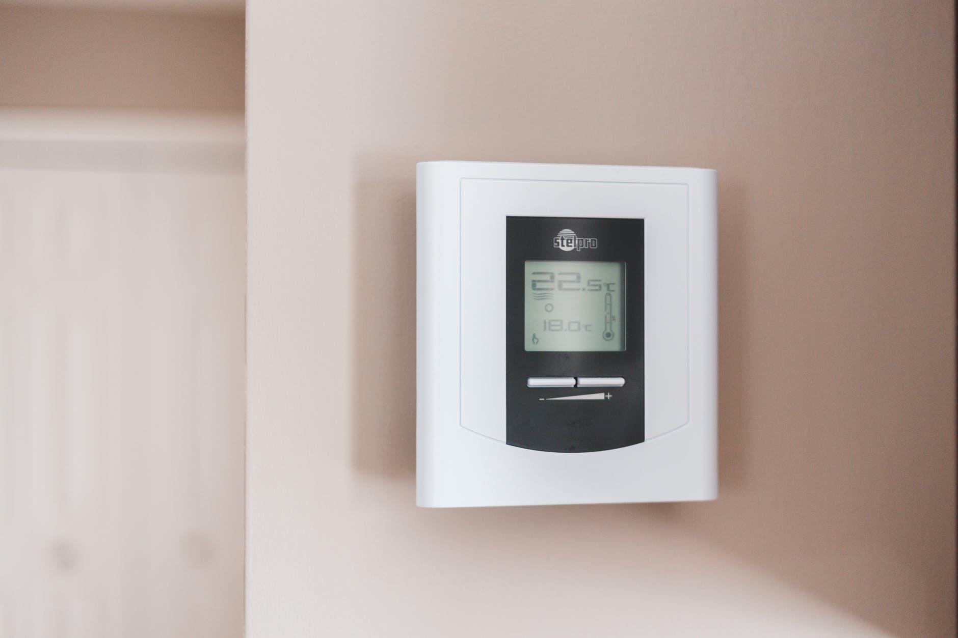 Air conditioner control panel