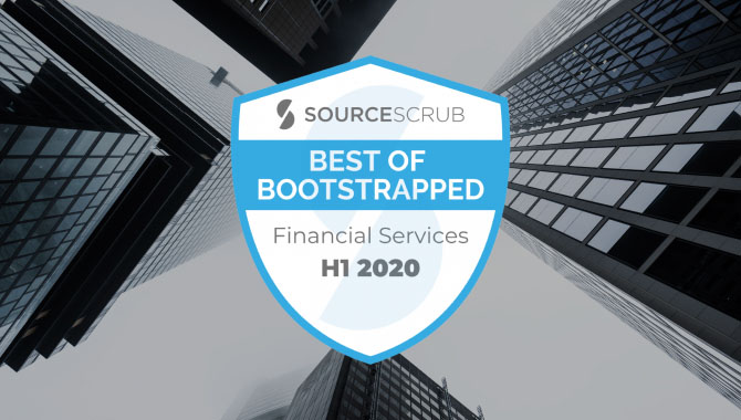Best of Bootstrapped in Financial Services, H1 2020
