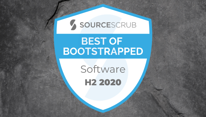 Best of Bootstrapped in Software, H2 2020