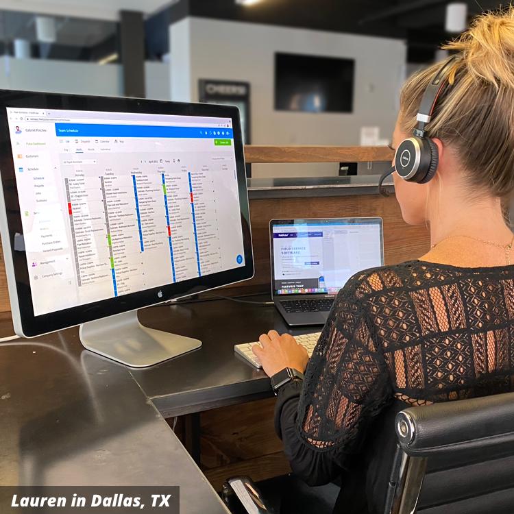 Lauren from FieldPulse Customer Support
