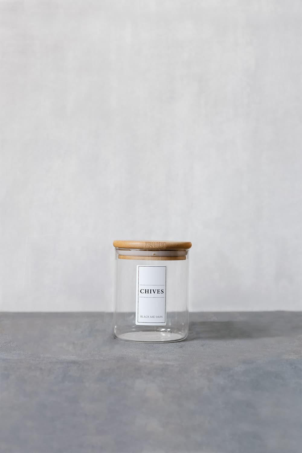 Spice Blend Jar with White Label- 480ml