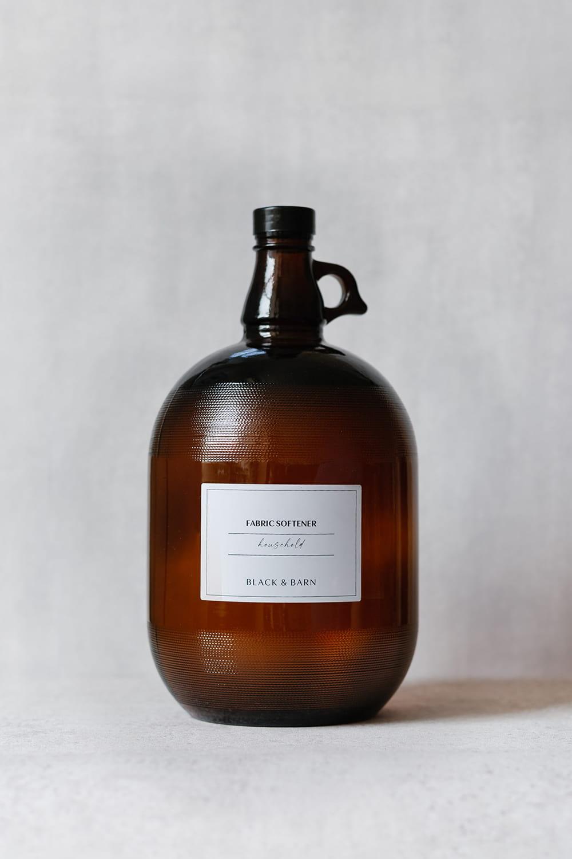 Amber Utility Bottle - 1 Gallon