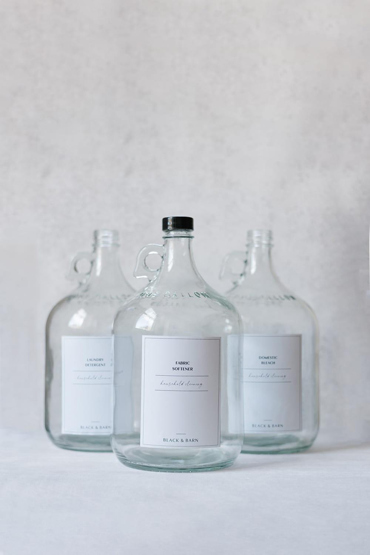 Clear Utility Bottle - 1 Gallon