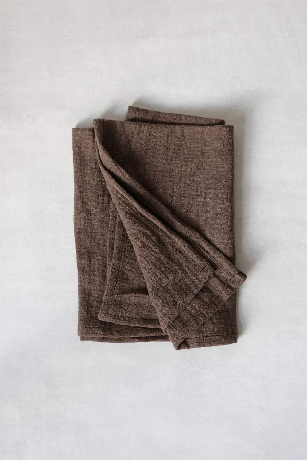 Towel in Brown